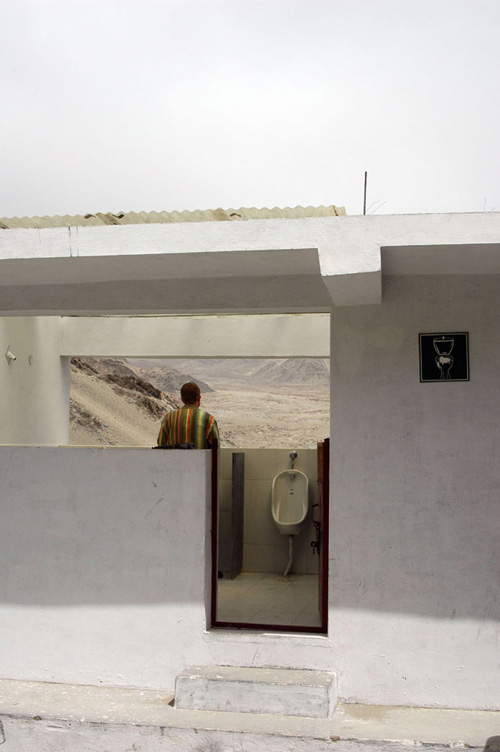 хорошие новости - туалет в Тибете