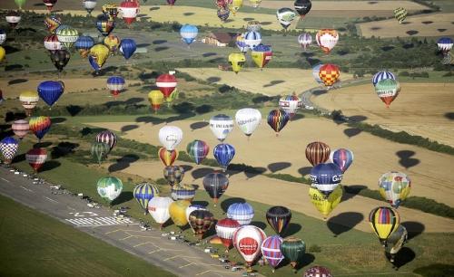 хорошие новости - фестиваль воздухоплавания