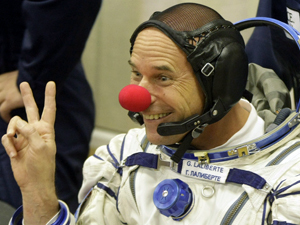 хорошие новости - клоун на орбите